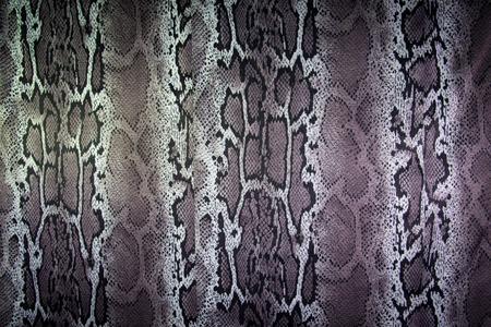 texture of print fabric stripes snake for background Reklamní fotografie