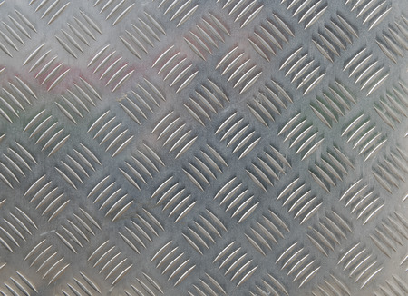 diamond plate: metal diamond plate in silver color background Stock Photo