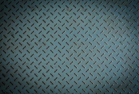 diamond plate background: old metal diamond plate ,background closeup Stock Photo