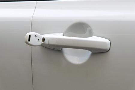 open car door: open car door with white key
