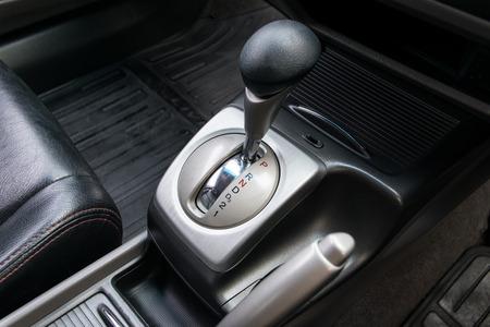 Car interior. Cambio automatico di trasmissione. Archivio Fotografico - 38512635