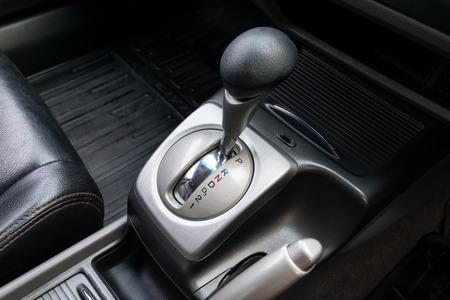 Car interior. Cambio automatico di trasmissione. Archivio Fotografico - 38512636