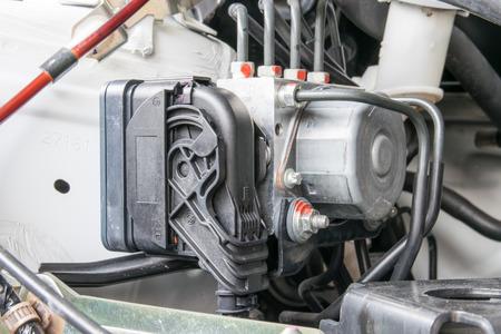braking: Antilock braking system abs closeup Stock Photo