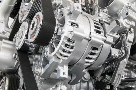 Auto-Motor Nahaufnahme Ein Teil der Auto-Motor Standard-Bild - 41155277