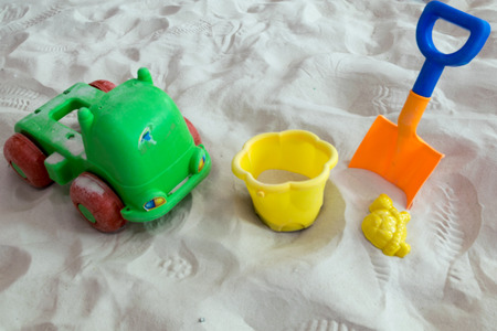 sand toys: Toy on Sand