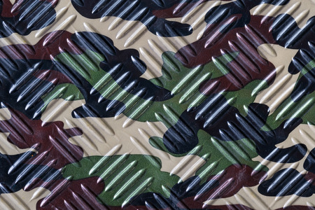 metal pattern: camouflage texture background with diamond pattern Stock Photo