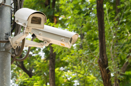 closed circuit television: CCTV recording important events