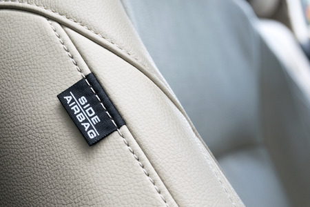 Side Car Airbags Tag. increased safety in a car