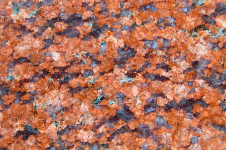 polished: Polished granite texture, closeup