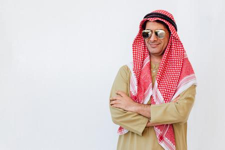 Portrait of Arab businessman