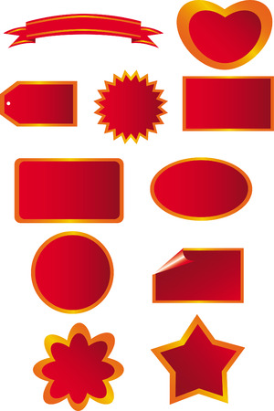 Nice Vector of Tags Stock Vector - 2774825