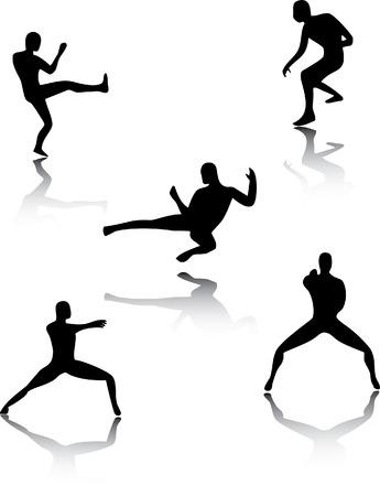 Martial Art Pose