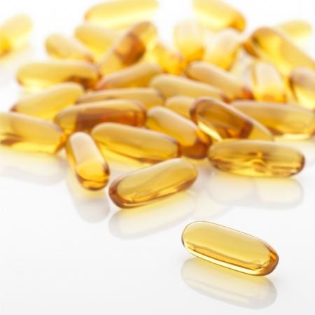 gel capsule: Vitamin for health
