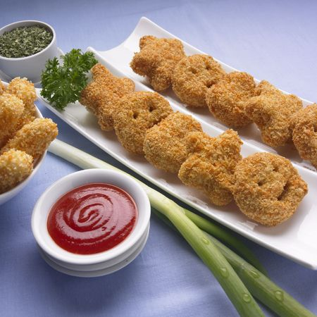 Funny Nuggets Stock Photo