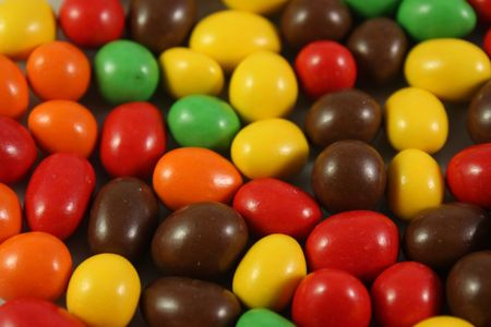 nice colorful rounded candy mixing background