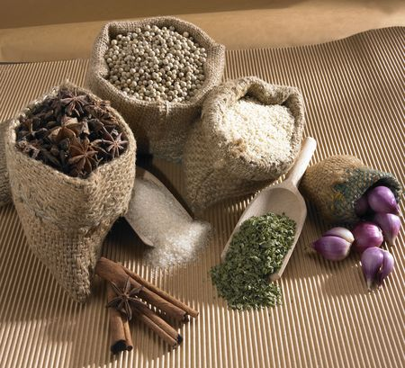 Food Ingredients Stock Photo