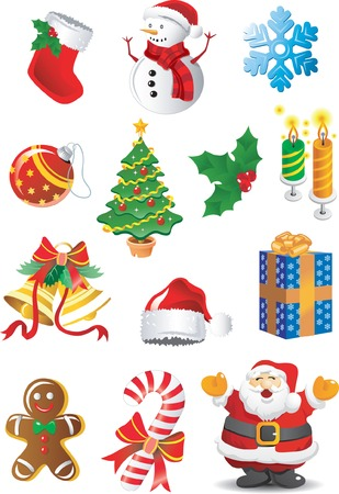 Christmas Clipart Stock Vector - 5260760