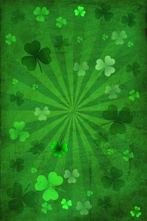 cloverleafes: St Patrick Day Background