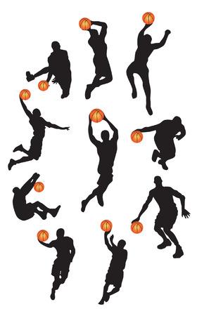 delito: Baloncesto  Vectores