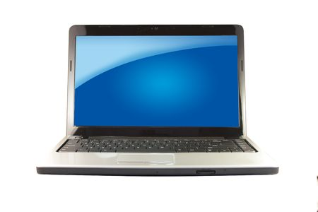 Modern Laptop Stock Photo - 7707957