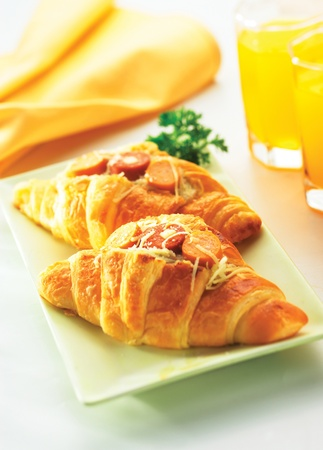 The Delicious of Croissant Stock Photo - 10021793
