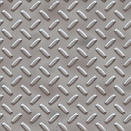 Seamless Diamond plate photo