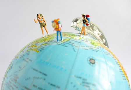 People Travelling around The World Stock Photo - 87322855