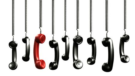 telephone: 3d prestaci�n de terminales de un viejo tel�fono de cosecha