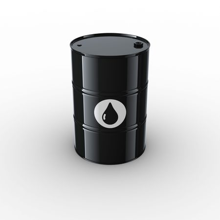 3d rendering of an oil drum photo