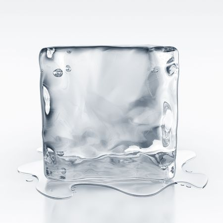 icecube: 3d rendering of an icecube