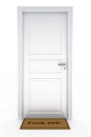 3d rendering of a door Stock Photo - 5816867