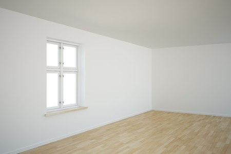 3d rendering of a corner in an empty room Stock Photo - 7250816
