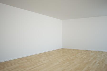 3d rendering of a corner in an empty room Stock Photo - 7250842