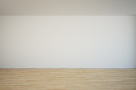 empty space: 3d rendering of an empty wall