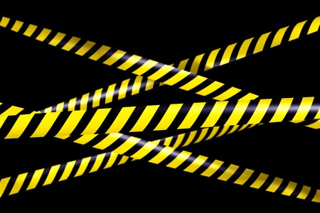 caution tape: 3d rendering of blank caution tape