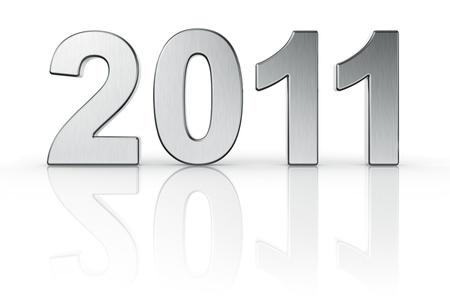 2011 written in aluminum photo