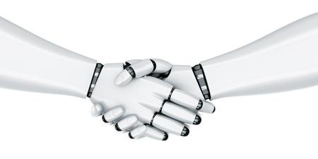 mano robotica: representaci�n 3D de un robot de estrechar la mano