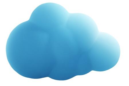 3d rendering of a cloud illustration Stock fotó