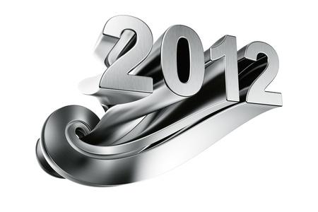 2012 written in aluminum photo