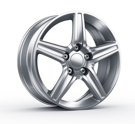 3d rendering of an alloy rim photo