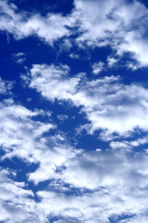 Sky filled with cloud Stock Photo