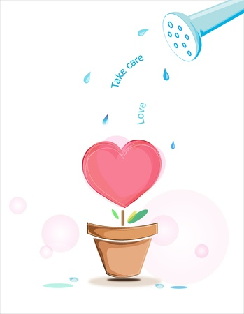 Love plant Illustration