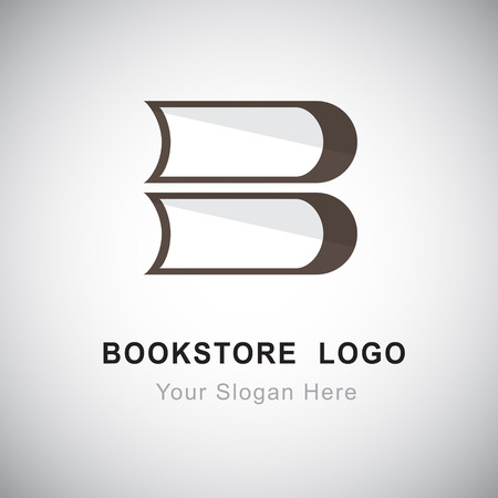 Bookstore design Illustration