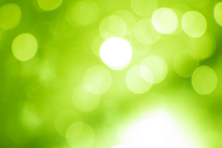 Green bokeh soft color background  Stock Photo