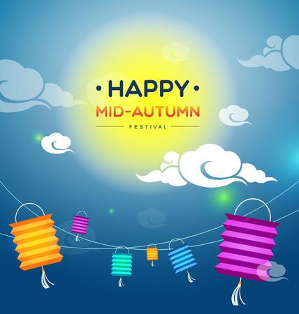 Mid autumn festival-Vector Illustration