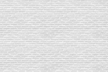 Pared de ladrillo blanco para la textura o el fondo Foto de archivo - 55110920