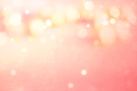 Abstract Blurred pink tone lights-Valentine background