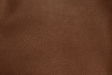 Close up of brown leather background or texture Stock Photo