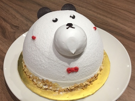 アニメーションのケーキ