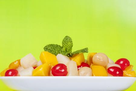 racimos de uvas: Ensalada de Frutas
